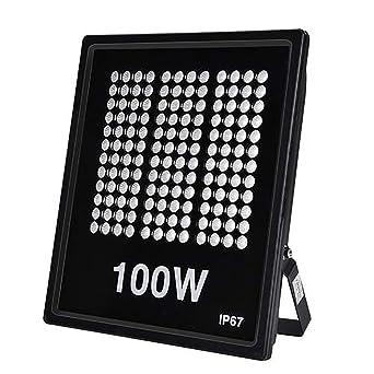 100W Focos LED Exterior| Floodlight, IP67 3000K Proyectores LED ...