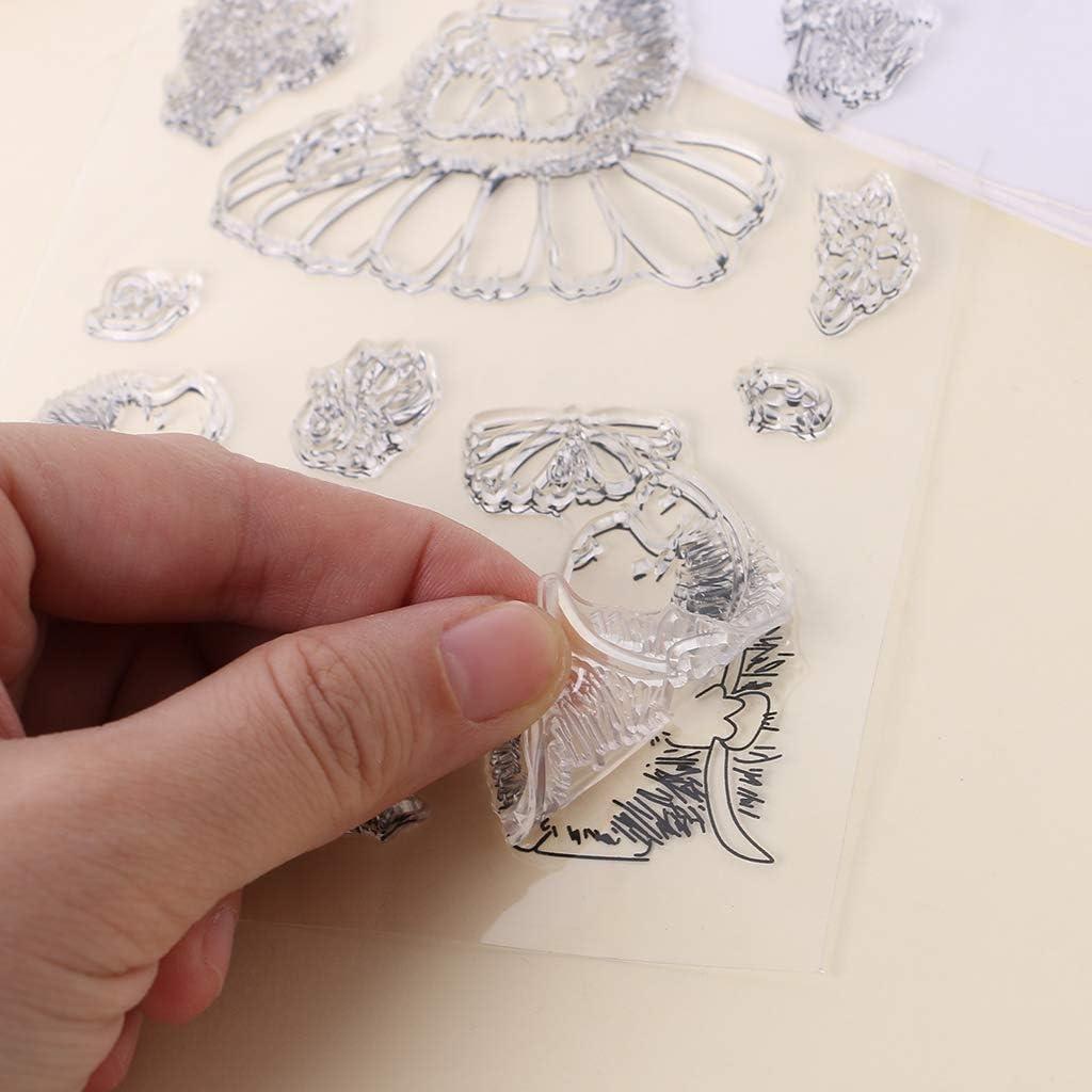 Kalttoy Doux TPR Timbre Joint Dessin Anim/é H/érisson Motifs DIY Scrapbooking Album Photo D/écor