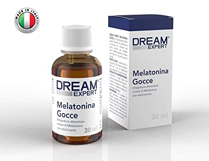 Dream Expert - Gotas de Melatonina (1 mg) - ACCIÓN INMEDIATA: Amazon ...