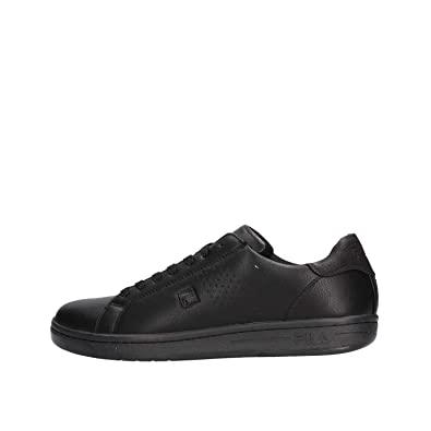 Fila Scarpe Uomo Sneakers Pelle Nera 1010274 12V: Amazon.it