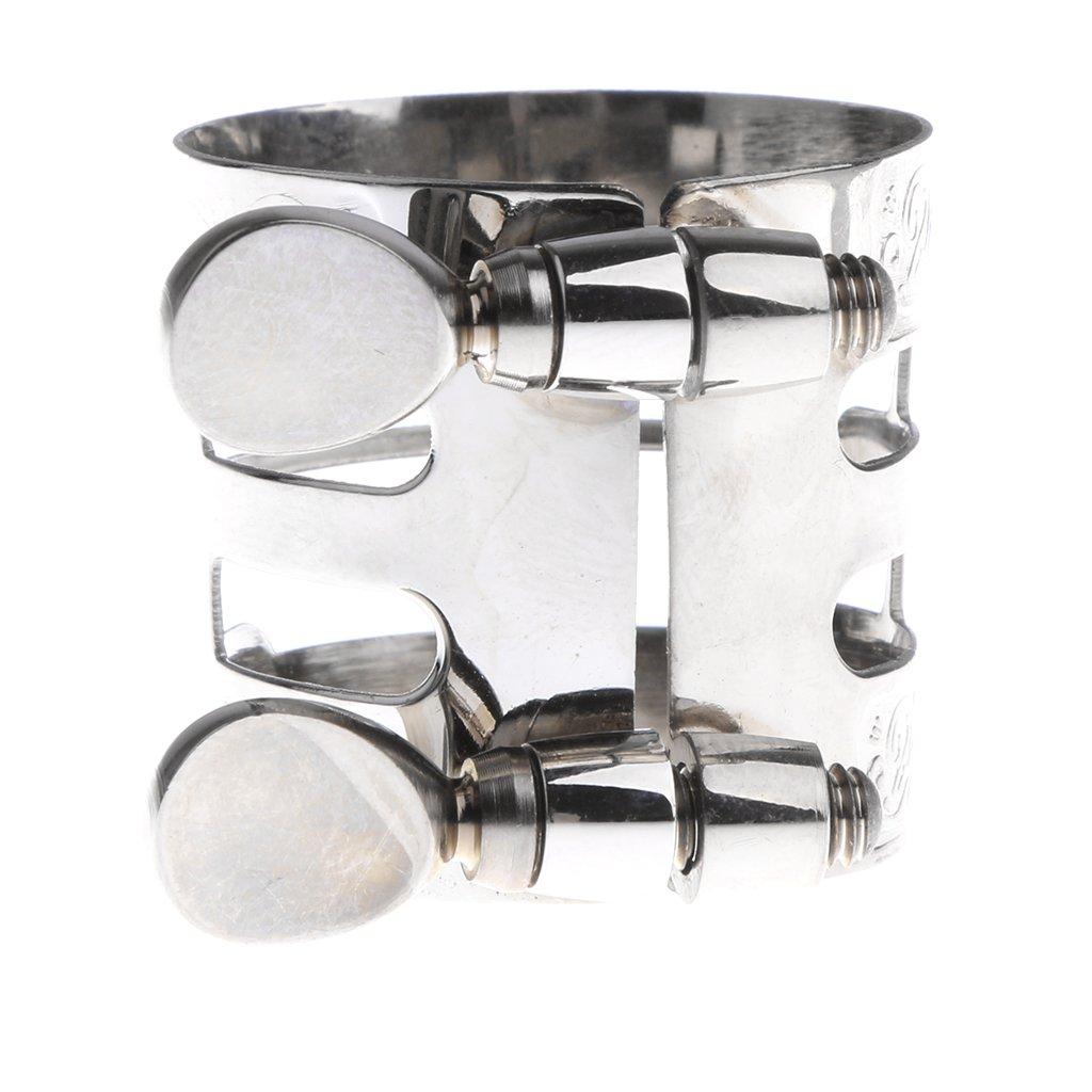 Sharplace Abrazadera de Boquilla de Saxofón Complimentos Musical Instrumento Cómodo - Oro non-brand