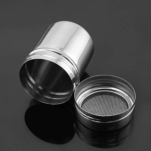 VANKER Botes para Especias de Acero Inoxidable Botella Cocina Condimento Jarras de Almacenamiento de Contenedores tama/ño L