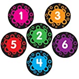 Really Good Stuff EZ Stick Numbered Spot Markers