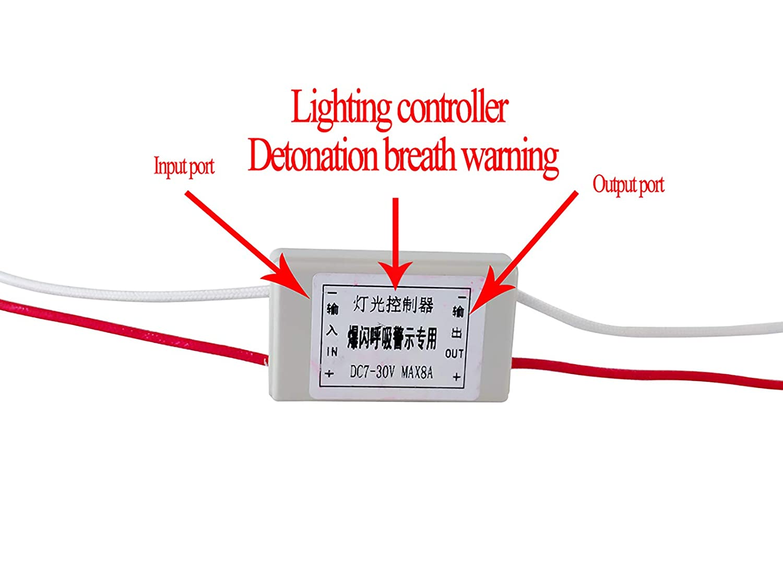 12v 24v Led Flash Strobe Controller 16 Mode Flasher Circuit Amazon Account Pinterest Module Brake Stop Light Lamp Car Electronics