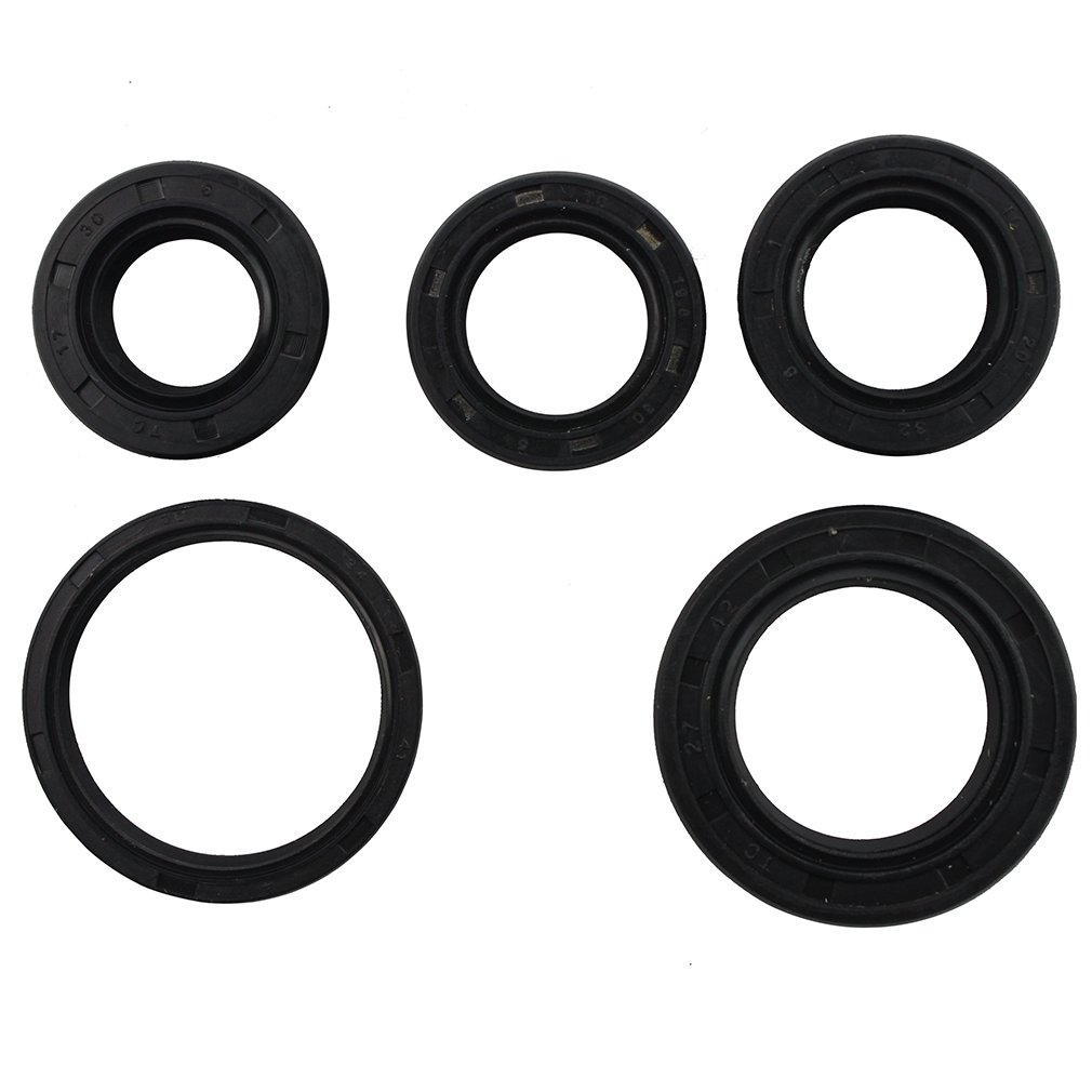Goofit Complete Engine Oil Seal Kit For Gy6 49cc 50cc Baja Sc50 Wiring Harness 139qmb Scooter Moped Atv Automotive