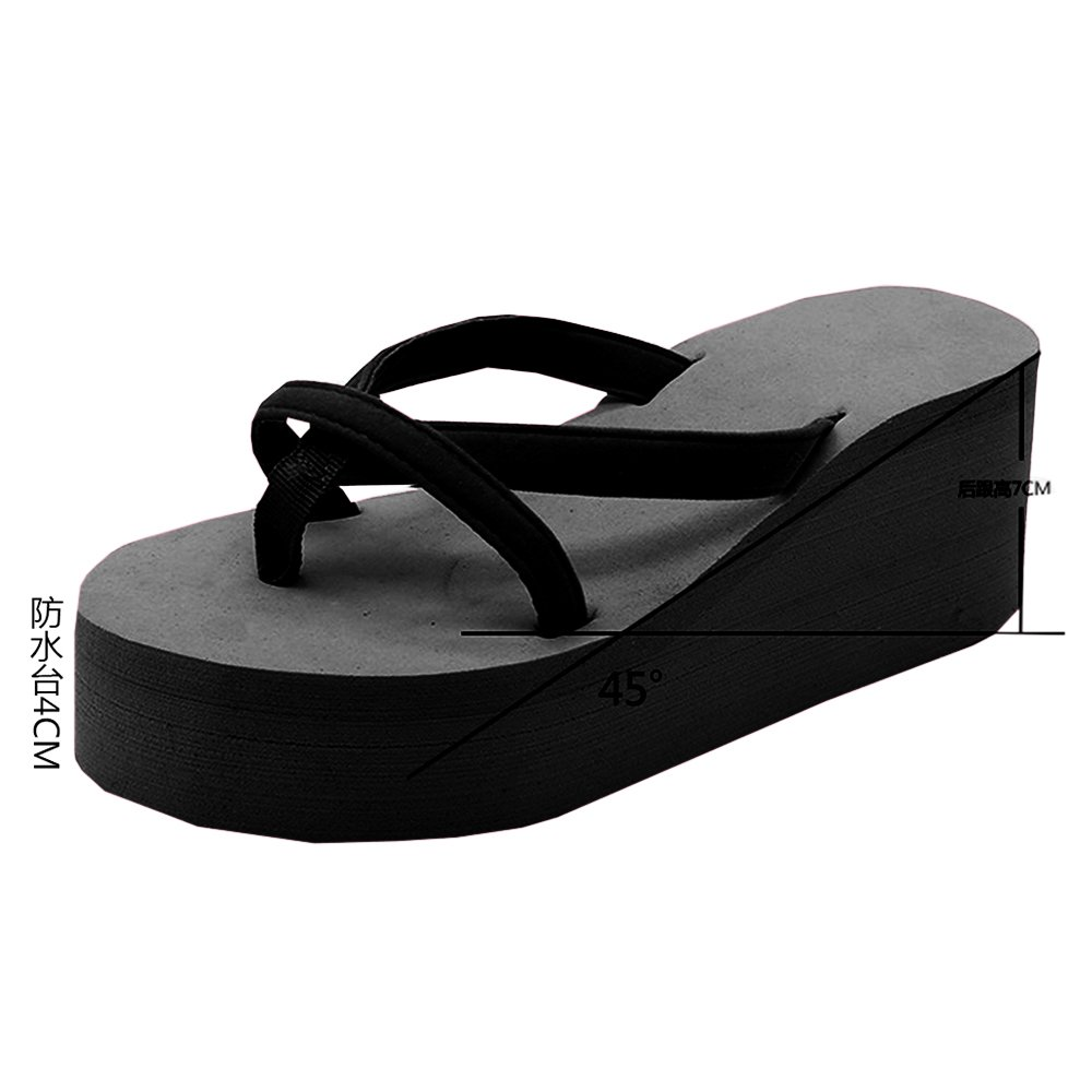 fa6dbbcfd6592f ... Amazon.com Meilidress Fashion Women Casual Summer Platform Shoes Wedges  Flip Flops Outdoor Slippers Flip  Kokobuy Casual Woman Summer Sandals High  ...