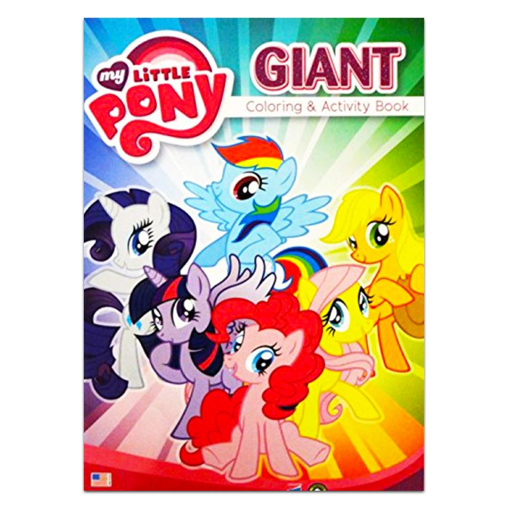 My Little Pony Giant Coloring and Activity Book