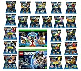 Skylanders Imaginators Starter Pack + Lego Dimensions Starter Pack + The Simpsons Homer + Scooby Doo + Portal 2 + Jurassic World + Back To The Future + 14 Fun Packs Xbox One or Xbox One S Console
