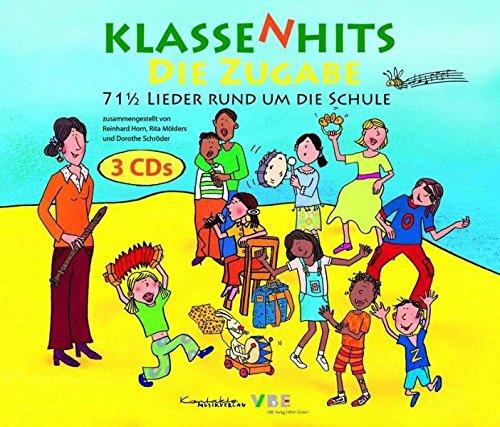 KlassenHits - Die Zugabe: 71 1/2 Lieder rund um die Schule. CD