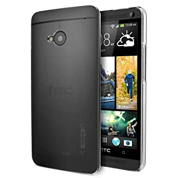 best authentic d5ced 2f0aa SPIGEN SGP Case Ultra Thin Air case for HTC One Soft Clear