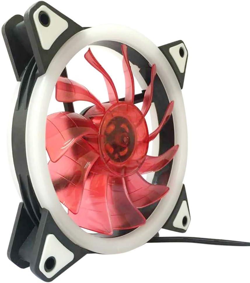 CAOQAO - Caja LED de Repuesto para radiador Rdinador/PC/CPU 12 x ...