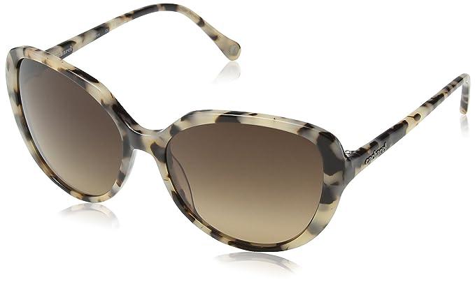 Cacharel - Gafas de sol Oversized CA7025 874 para mujer, Crème/Brown ...