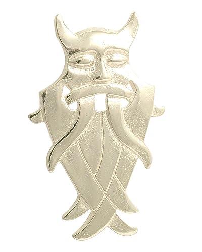 Celtic field colgante Odin máscara de plata de ley: Norbert ...