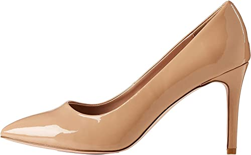 Marchio Amazon find. Wide Fit Point Court Shoe, Scarpe
