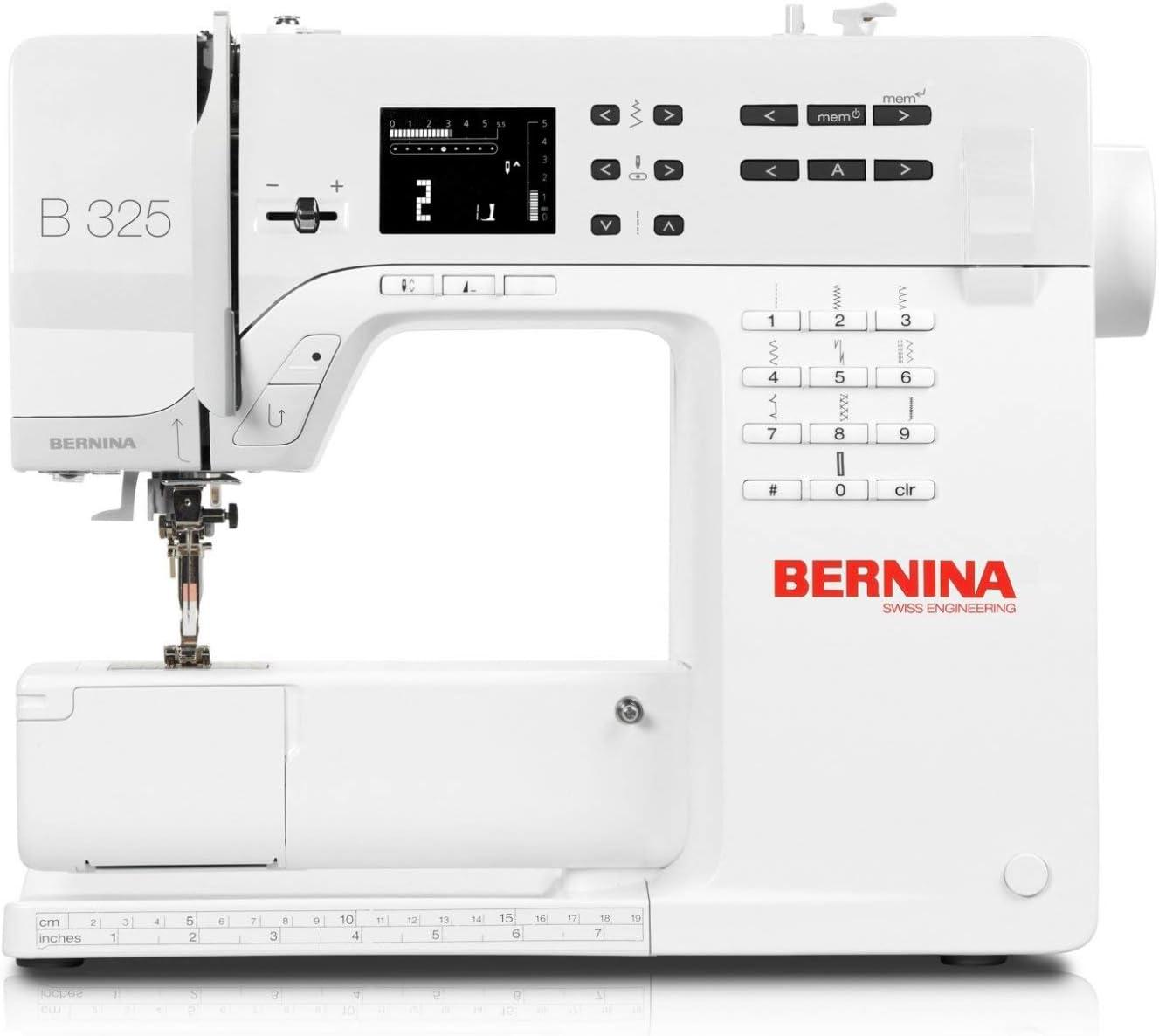 Bernina 325 - Máquina de Coser (3 Unidades, para niños y niños)