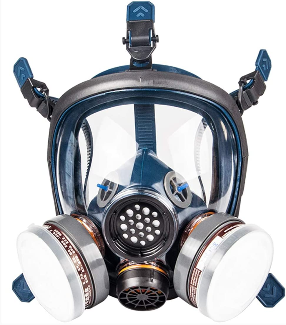 Air Activated With Mask Full Respirator Filter Vapor Carbon black Face Organic Gas Double