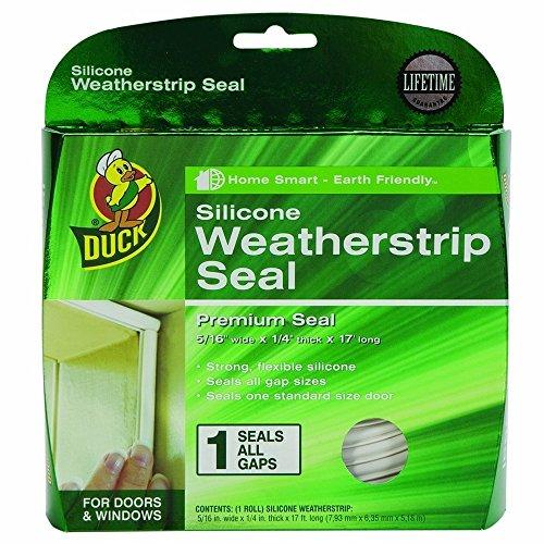 Duck 281209 Silicone Weatherstrip 375 Inch