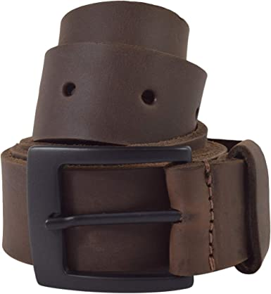 Bourbon Brown Mens Rustic Thick Leather Belt Handmade by Hide /& Drink Includes 101 Year Warranty