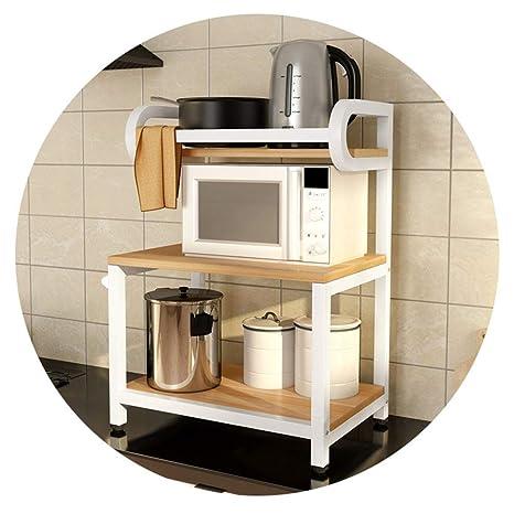Bjia Estante para horno de microondas de cocina de pie ...