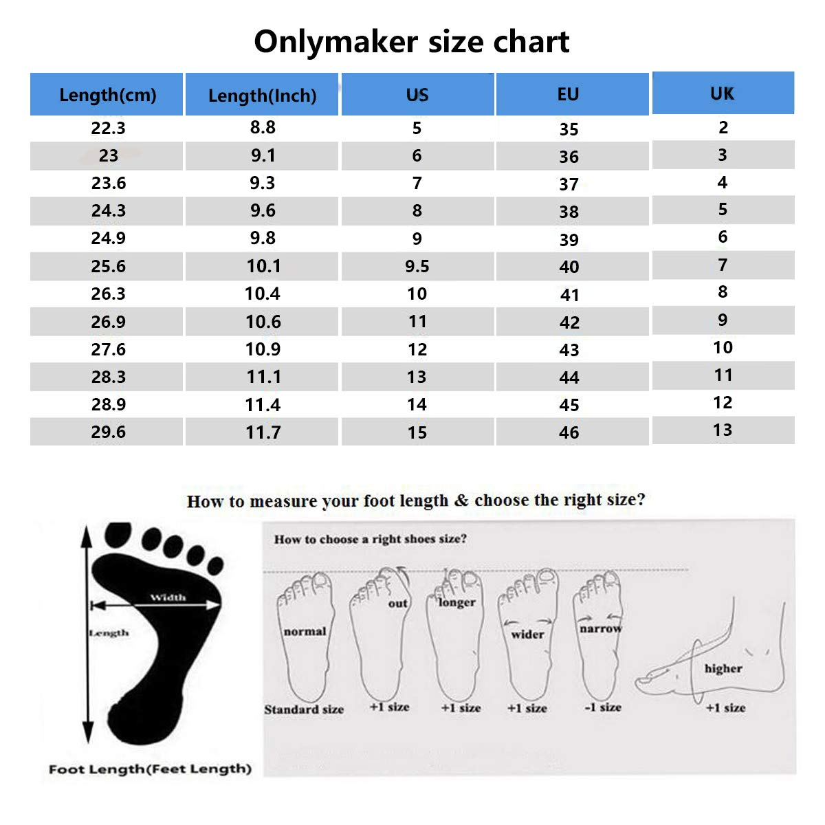 Onlymaker Womens Ankle Bootie Round Toe Platform Boots Lace Up Large Big Plus Size High Heels US 5-15