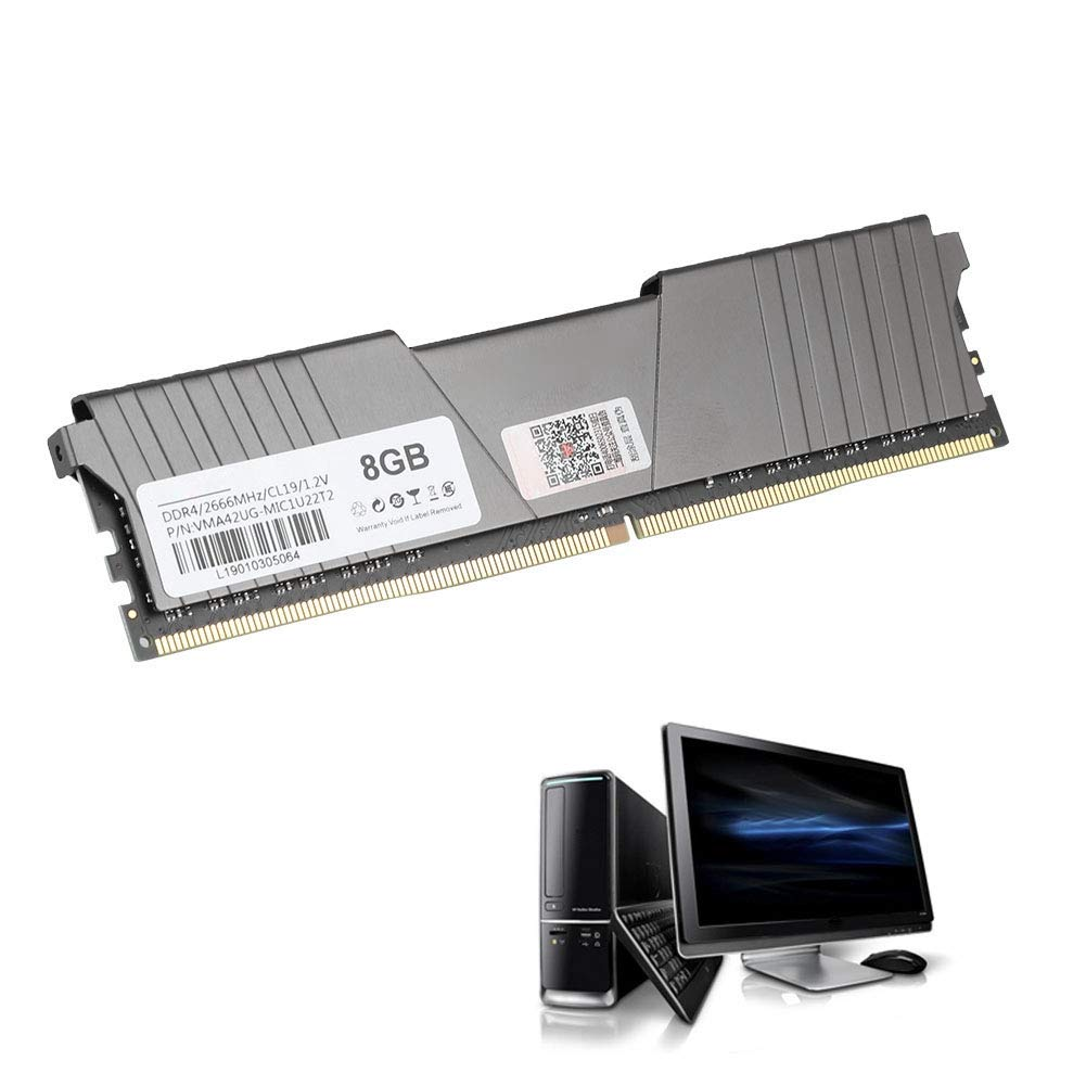 DDR4 2666MHz 8GB Tarjeta de Memoria, Computadora de ...