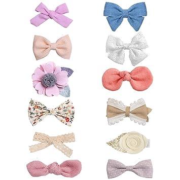 BABY GIFT Kids Velvet Hair Bow//Hair Clip// Hair Pin Girls PARTY Basic Head wear