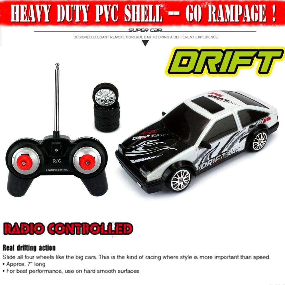 RC Sports Car Super Fast Drift Legend Ae86 R/C Sports Car Remote ...
