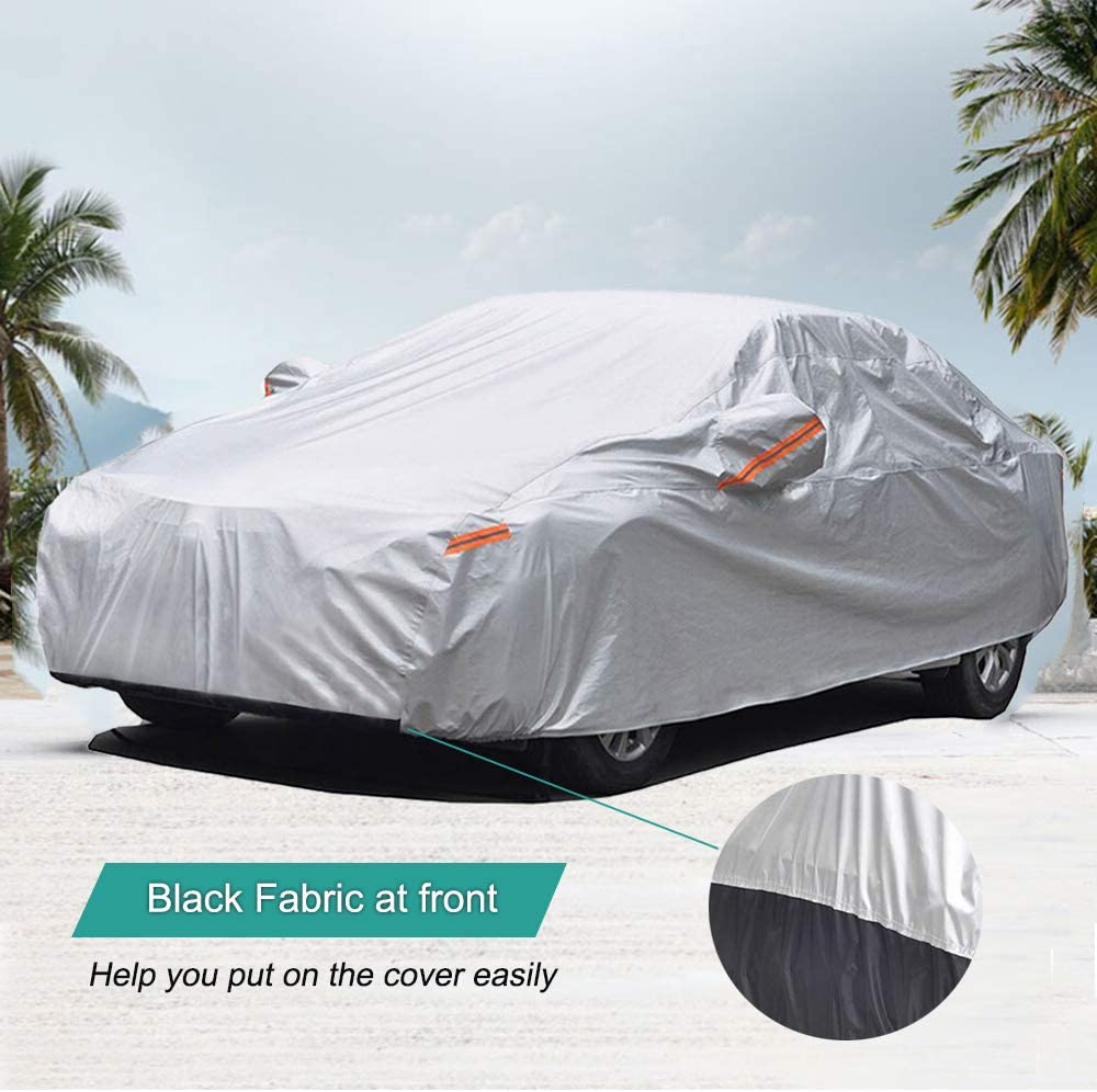 Protect Your Car from High Exposure Area of Sun /&//or Snow A 18-LAYER CAR COVER