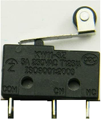 10 PCS Tact Switch KW11-3Z 5A 250V Microswitch Round Handle 3PIN