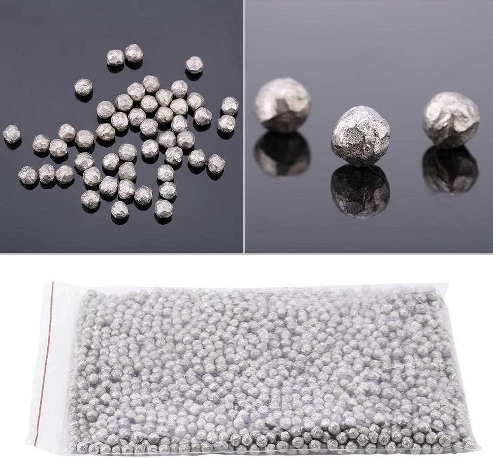Hyuduo 500g de Perles en m/étal de magn/ésium de Perle en m/étal de magn/ésium Pure de 99,99/% de Petites Perles pour la Fabrication mat/érielle dalliage