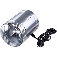 """Yescom 6"""" Inline Duct Booster Exhaust Fan Aluminum Blade Ventilation Air Blower"""