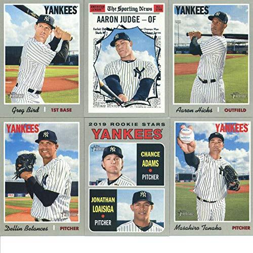 Galleon 2019 Topps Heritage Baseball New York Yankees Team