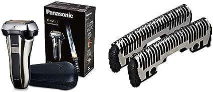 Panasonic ES-CV51-S803 Afeitadora Premium Compacta Eléctrica para Hombre de Láminas para Barba Recargable + Panasonic WES9170Y1361 - Hoja exterior para afeitadoras: Amazon.es: Salud y cuidado personal