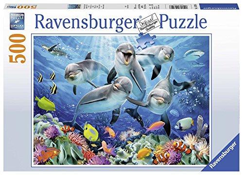 (Ravensburger Dolphins Jigsaw Puzzle (500 Piece))