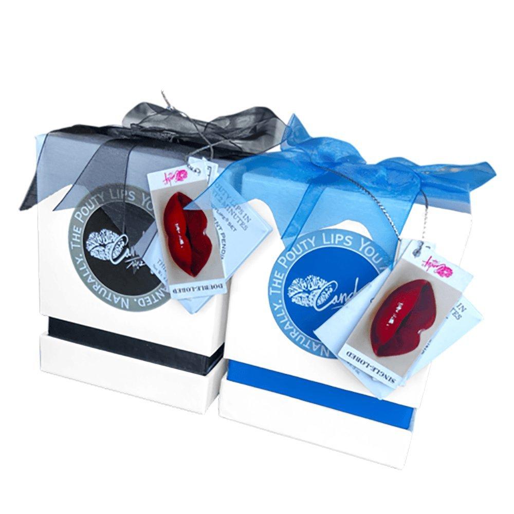 SET 2: CandyLipz Licorice Lip Plumper Set (M+ to L)