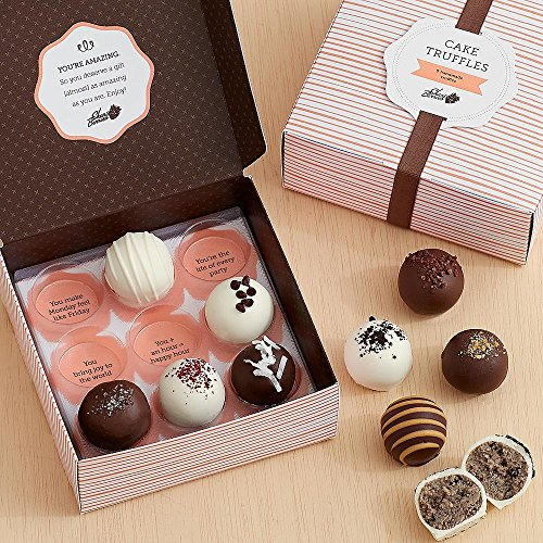 Shari's Berries - Assorted Cake Truffles - 9 Piece - 9 Count - Gourmet Baked Good Gifts