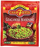 Casa Fiesta Guacamole Seasoning, 1-Ounce Packages (Pack of 24)