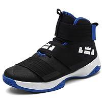 HEmei Zapatos de Baloncesto para Hombre Zapatos de Invierno para nuevos Amantes Zapatos para Hombres de Camuflaje de Mujer Botas Altas Zapatos para Correr