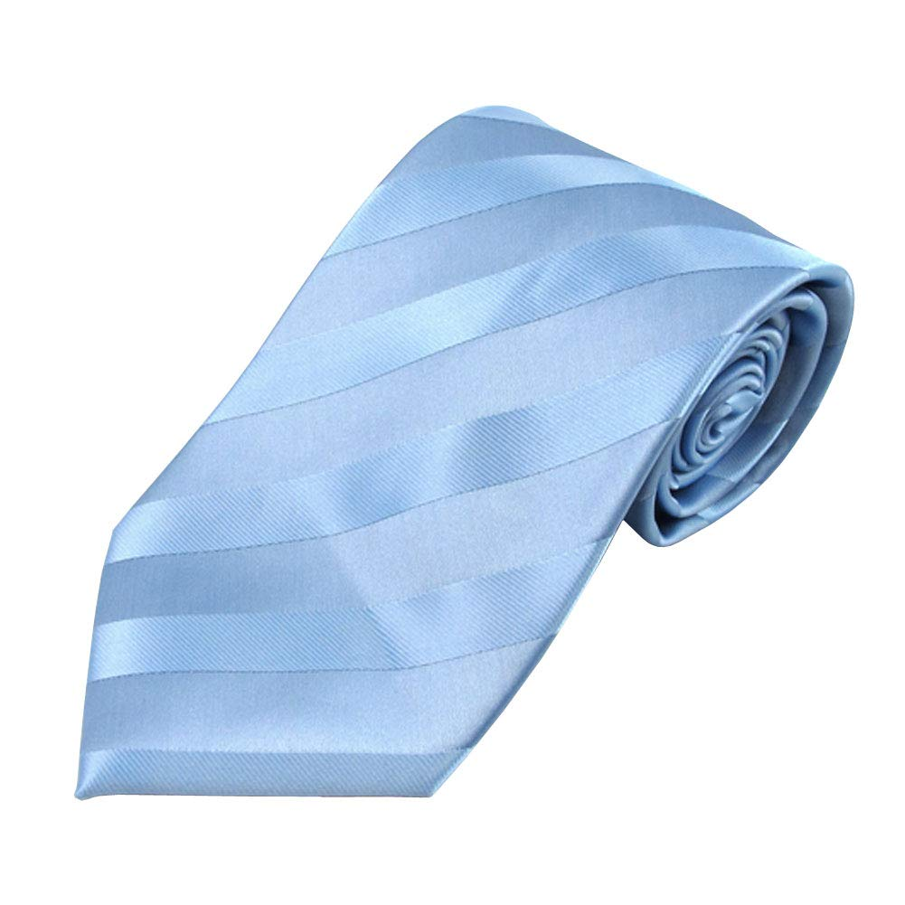 Forest Green Jacob Alexander Boys Clip-On Solid Color Tonal Stripe Neck Tie