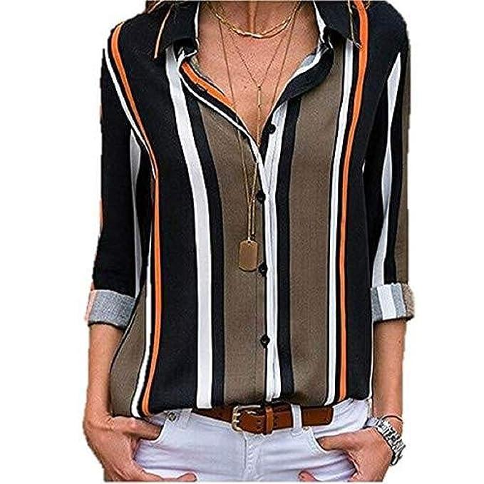 Damen Mode Oberteil Langarmshirt Hemd T-Shirt Einfarbig Sweatshirt Business  Tops Frauen Langärmelige Sexy Elegant Shirt Aufdruck Rundhalsausschnitt  Lose ... 727256225c