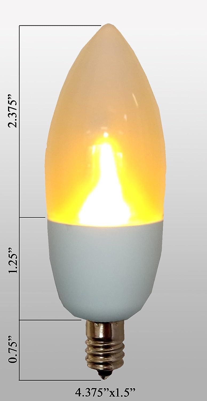 OCSParts 48PSB Light Bulb 0.05 Amps LIT221 x 10 Pack of 10 48 Volts