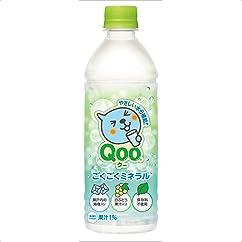 【ドリンクの新商品】コカ・コーラ ミニッツメイド クー ごくごくミネラル PET 500ml×24本