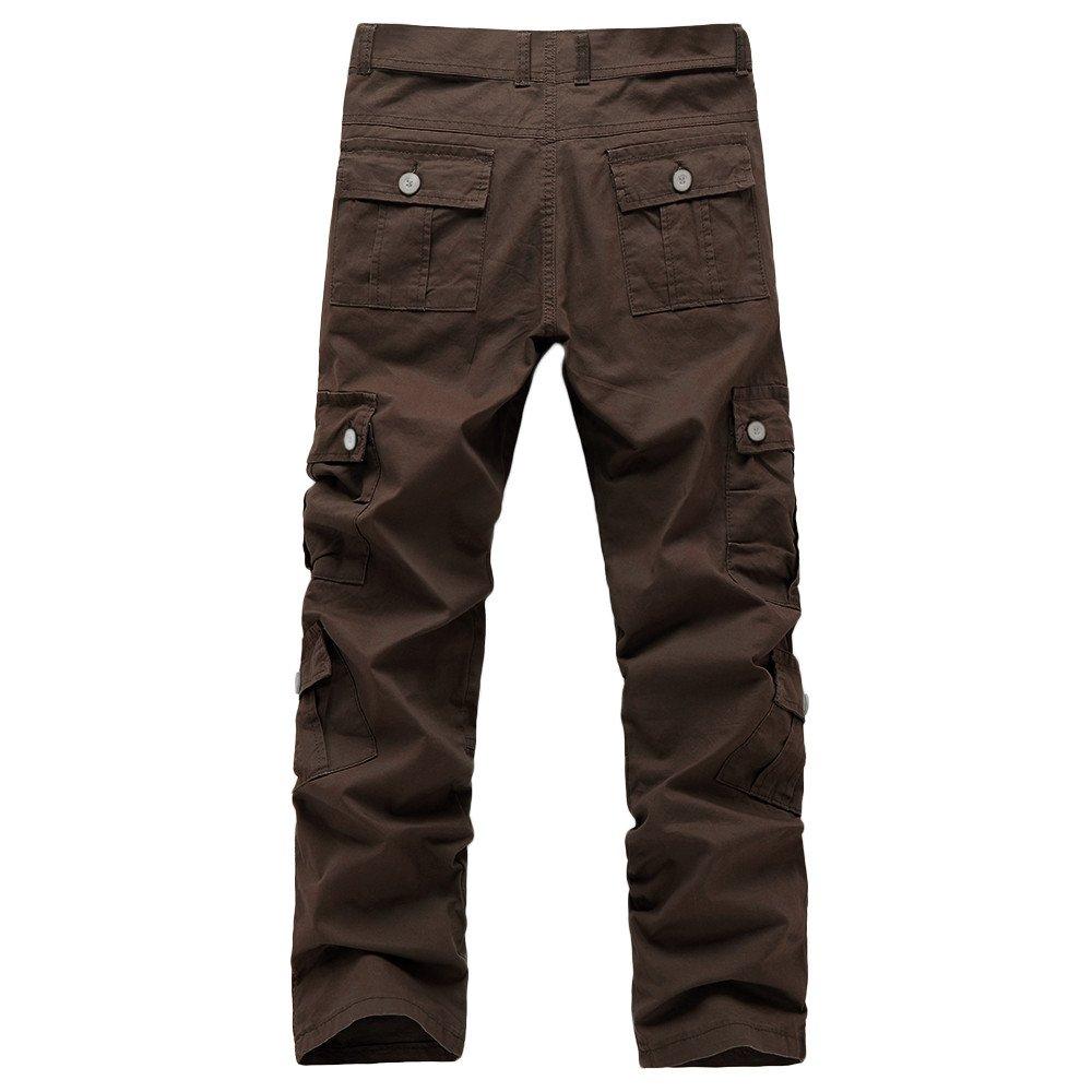 Pantalones de Trabajo de Hombre Elasticos, ❤️ Zolimx ...