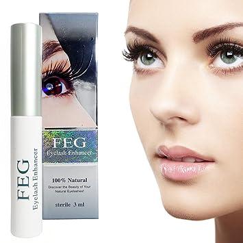 76b80e829a4 Amazon.com: FEG Eyelash Enhancer Rapid Growth Serum 100% Natural Eyelash  Serum - Grow Full and Thicker Eyelashes: Beauty
