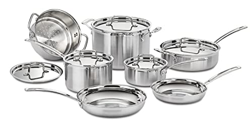 Cuisinart Multiclad Pro Stainless Steel 12-Piece Cookware Set Review