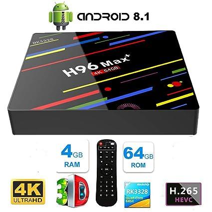 S905W MXQ Pro 4K 64-bit Android 7.1 DDR4 3D Smart TV HD Box 17.6 Mini KEYBOARD