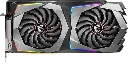 MSI GeForce RTX 2070 Gaming Z - Tarjeta gráfica (8 GB, GDDR6, 14 GHz, 256 bit, PCI-e 3.0 x16, HDMI 2.0b, USB 3.1), color negro