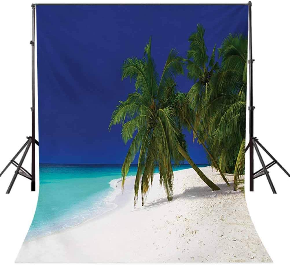 6x6FT Vinyl Photography Backdrop,Rainbow,Colorful Tree Design Trunk Photo Background for Photo Booth Studio Props