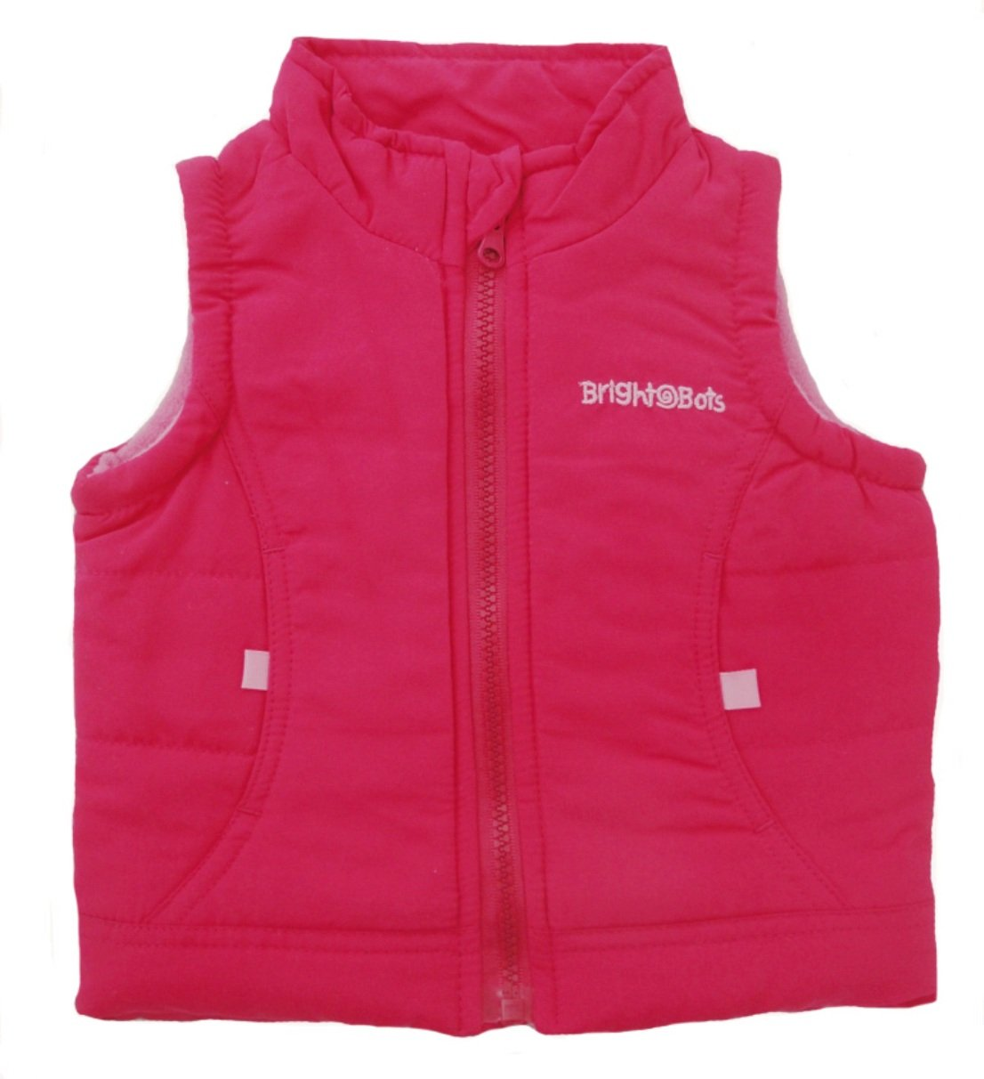 Bright Bots 2/3y Girl Gilet Bodywarmer Jacket - Pink
