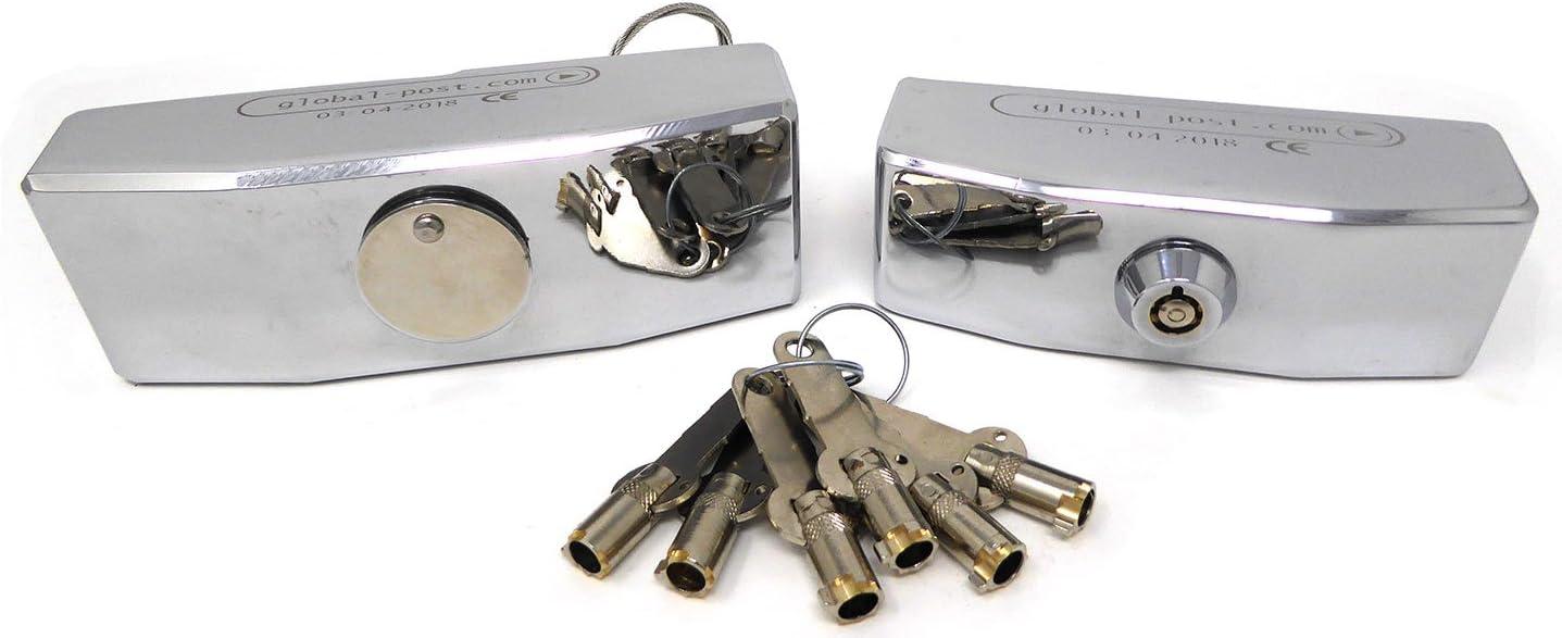 Juego Cerraduras Seguridad Blindadas para Furgonetas Máxima Calidad Fabricado en Europa: Amazon.es: Bricolaje y herramientas